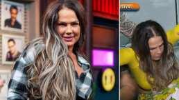 La tremenda caída que sufrió Niurka Marcos en plena entrevista