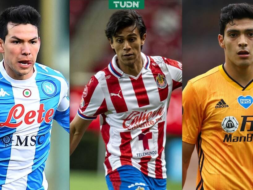 Futbolistas mexicanos más caros en la actualidad