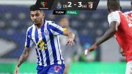 'Tecatito' lo intentó, pero Porto se lleva desilusión en la Taça