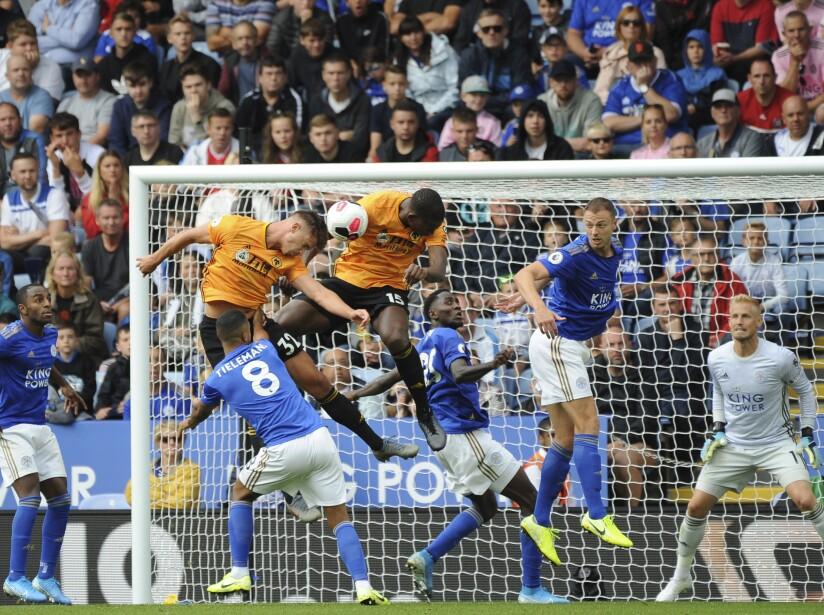 Leicester City vs Wolverhampton, Premier League