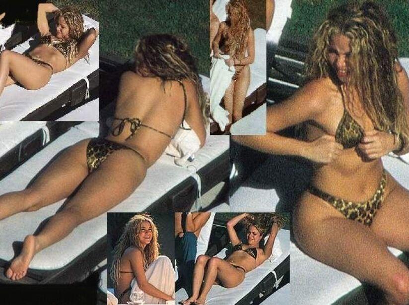 Shakira en bikini