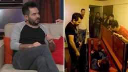 José Eduardo Derbez revela que en su casa tiene un ataúd en el que duerme