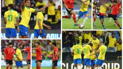 Con tantos de Paquetá, Coutinho y Danilo, 'la Canarinha' se queda con el amistoso internacional 3-0 sobre Corea del Sur.