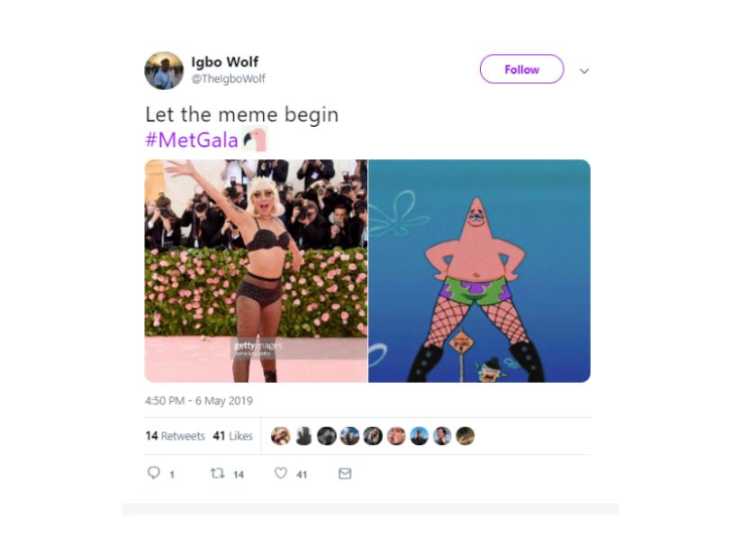 Memes MET Gala