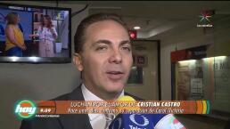 ¡A Cristian Castro ya le salió otra novia!