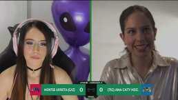 Ana Caty dominó, pero no pudo anotarle (0-0) a Montse Arrieta