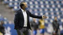 Juan Reynoso no está tranquilo a pesar de la victoria de Puebla