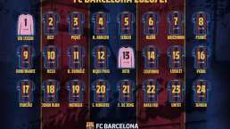 Polémica repartición de números en el Barcelona