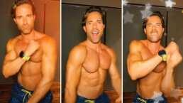 '¡Me lanzo con todo!': Así baila Sebastián Rulli tras tomar clases de baile y presumirlo en TikTok