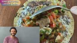 Receta de hoy: Puntas a la mexicana con el Chef Oropeza con pocos ingredientes