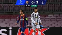 Cristiano Ronaldo le gana a Messi y Juventus golea al Barcelona