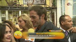 William Levy se aleja de las telenovelas
