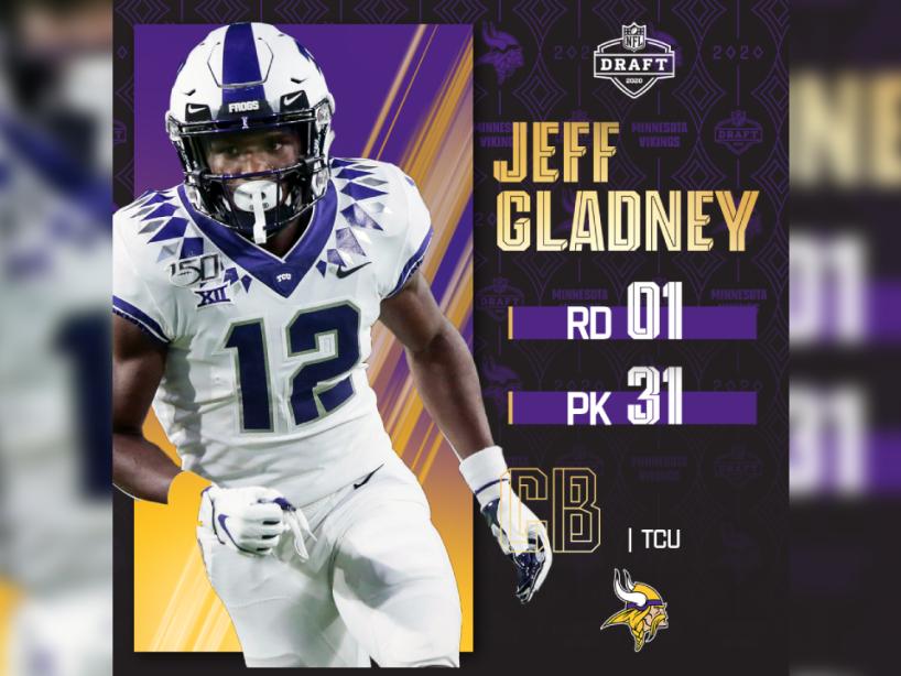 Jeff Gladney, NFL Draft, 1.png
