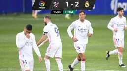Con este doblete de Varane, Real Madrid vence a Huesca y respira