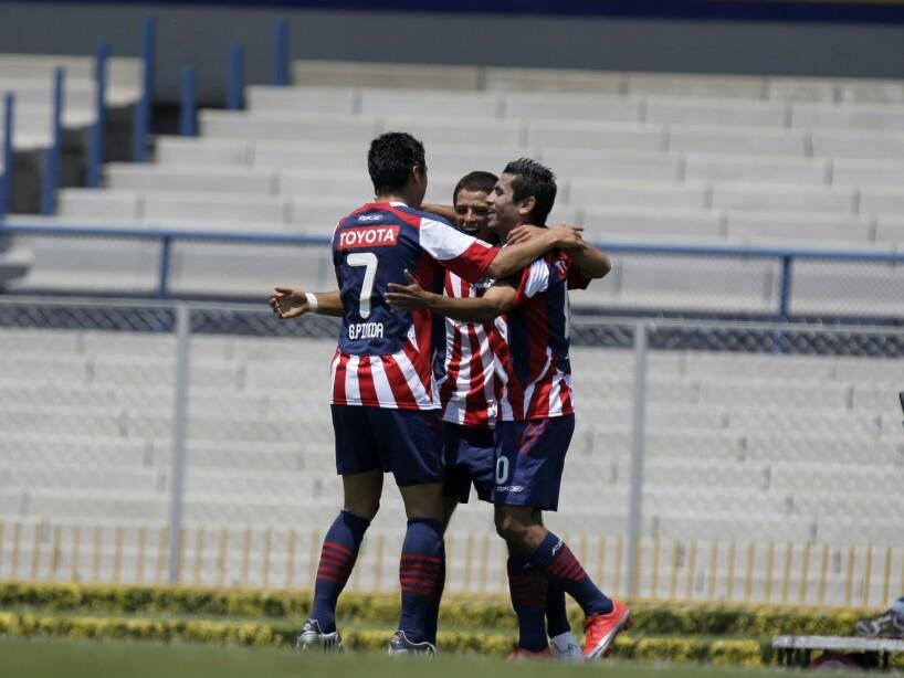 Gonzalo Pineda, Javier Hernandez, Alberto Medina