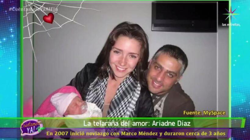 LA TELARAÑA DEL AMOR: Ariadne Díaz, antes de Marcus Ornellas