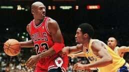 Michael Jordan señaló a Kobe Bryant como su heredero en la NBA