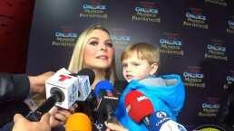 Marjorie de Sousa pide a la prensa no hablar de Julián Gil frente a su hijo Matías