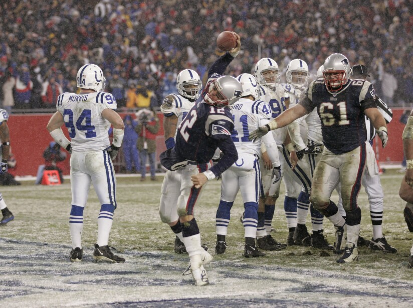 2004 AFC Divisional Playoff Game - Indianapolis Colts vs New England Patriots - January 16, 2005
