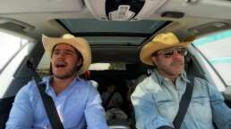 Video: Eduardo Capetillo y su hijo mayor enamoran con espectacular dueto