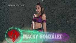 Macky González, la capitana de las Cobras en 'Guerreros 2020' de Canal 5