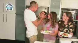 """""""Eres una muy bonita cocinera"""": Andrea Legarreta conquista a su familia con un delicioso desayuno"""