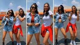 Livia Brito y Kim Shantal conquistan con sus pasos de baile en TikTok