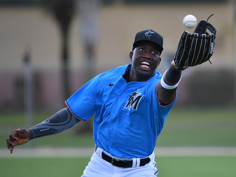 Miami Marlins Workout