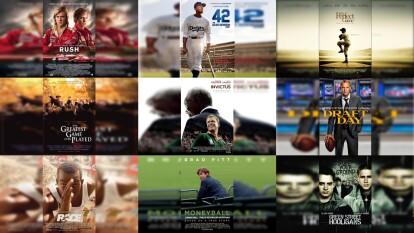 Con el paro en el deporte por el coronavirus, te recomendamos 20 grandes películas deportivas para que no extrañes la actividad.
