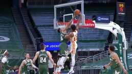 Giannis lo puede todo con los Bucks
