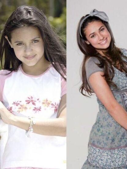 Renata Notni comenzó su carrera siendo una niña de once años, ahora es protagonista junto a Sebastián Rulli de 'El Dragón'. Mira su transformación con el paso de los años
