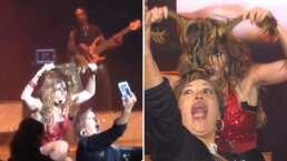 ¡La dejó con el pelo suelto!: Gloria Trevi y el momento en el que despelucó a una fan por accidente