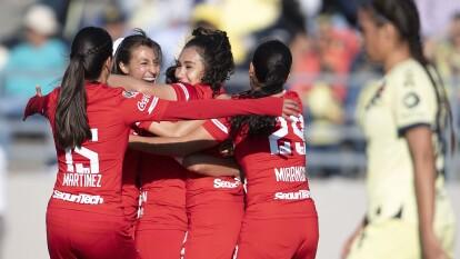 Con un gol de Yamanic Martínez, el Toluca femenil se queda con los tres puntos tras vencer al América en 'el nido'Mayra Fernanda Ríos falló un penal al minuto 77 que pudo ser el empate.