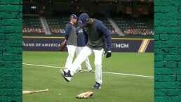 ¿Serie Mundial? Randy Arozarena domina una pelota ¡de beisbol!