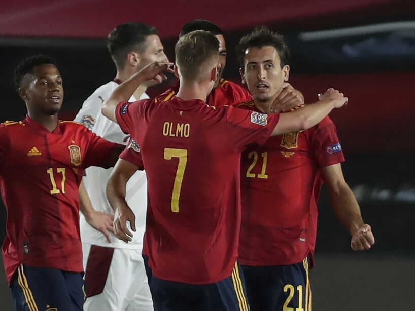 Spain Switzerland Nations League Soccer