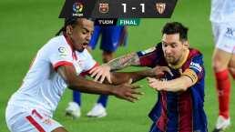 Barça y Sevilla reparten puntos y conservan el invicto