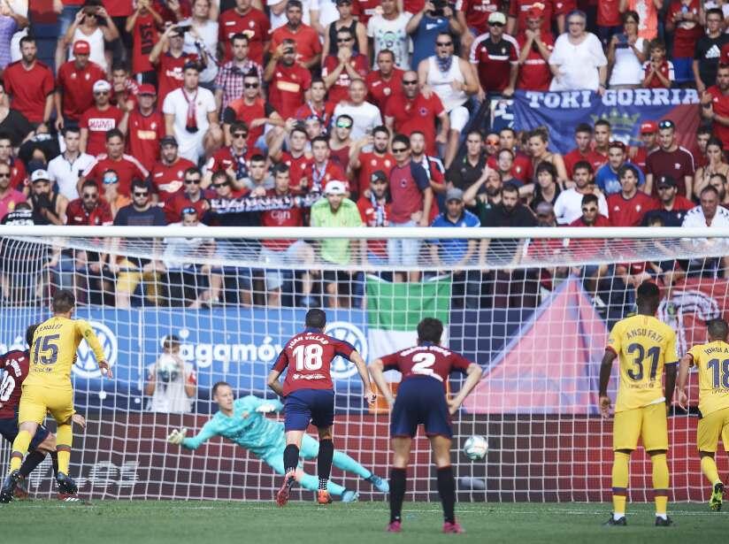 CA Osasuna v FC Barcelona - La Liga