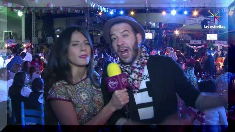 ENTREVISTA: ¡Faisy celebró cantando con tequila!