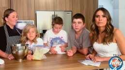 Los tuyos, los míos y los nuestros: Galilea Montijo cocina en familia con los hijos y la ex de su esposo