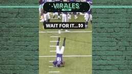 ¡Qué elasticidad! Así se celebra una victoria en la NFL