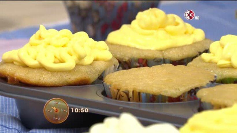 Cocina Chef Gibaja Cupcakes de fresas con crema