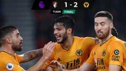Raúl Jiménez anota y comanda triunfo de Wolverhampton