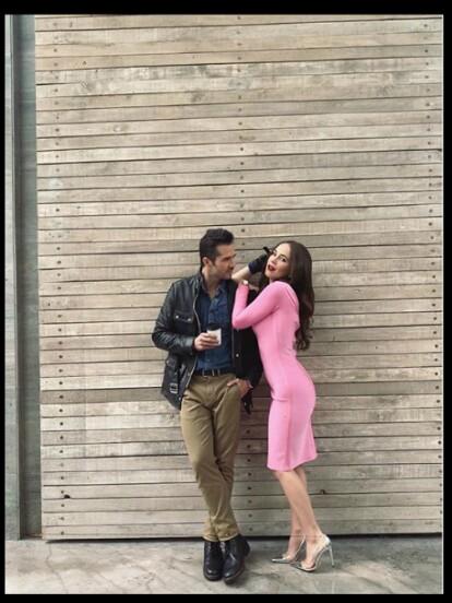 José Ron compartió una serie de fotografías junto Camila Sodi, la protagonista de 'Rubí', las cuales demuestran la gran química que hay entre ellos.