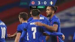 Inglaterra se pasea en Wembley a costa de Irlanda