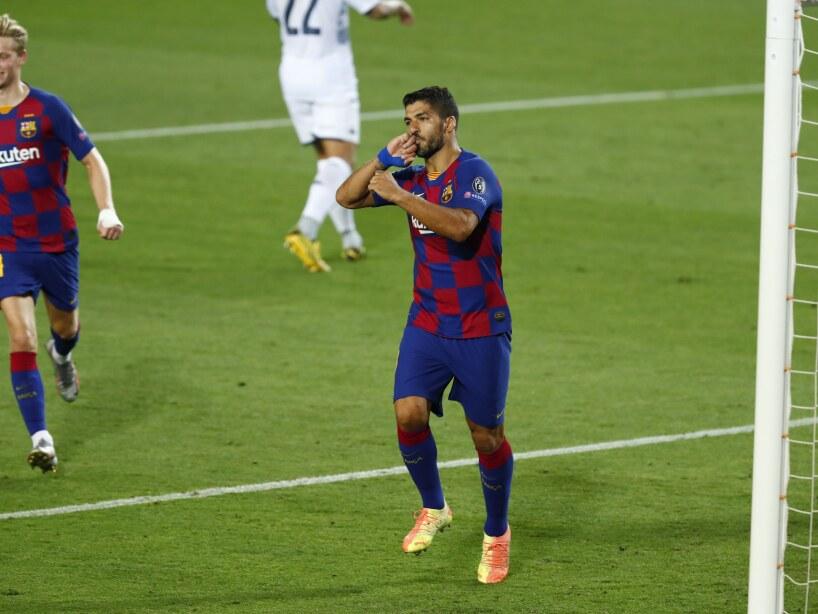 Luis Suárez-Barcelona-Champions League