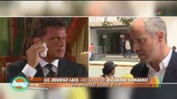 Alejandro Fernández pone fin a negociaciones con Luis Miguel