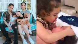JD Pantoja compartió el tierno momento en que Kima consuela a su hermanito para que deje de llorar