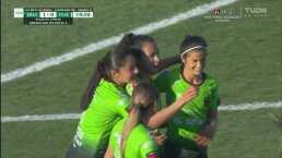 ¡Gol de Juárez! Atzimba Casas no falla dos veces y marca el 1-0