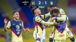 ¡Agónico! América le arrebata el triunfo 2-1 a León