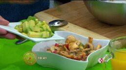 Cocina Chef Gibaja Cebiche de champiñones